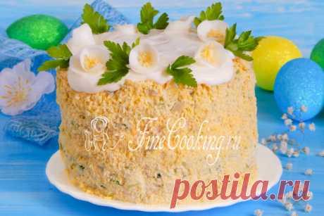 ¡La ensalada a la Pascua Cristo Voskrese! Con los deseos sinceros del mundo, calor y el bienestar tengo prisa felicitarle la fiesta Clara de la Pascua y repartir la receta de la ensalada muy simple rápidamente.