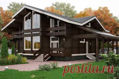 Дом в стиле шале (85 фото): красивые проекты, идеи и дизайн