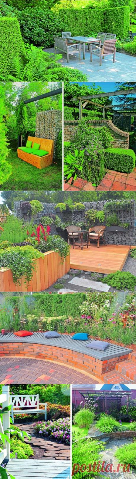 Место для отдыха в саду: варианты и рекомендации по оформлению