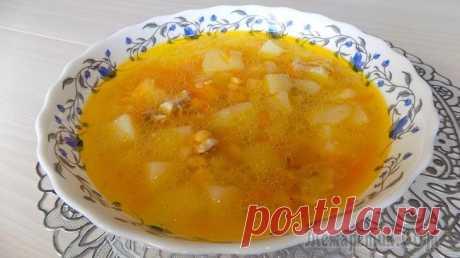 Гороховый суп с курицей Ингредиенты для горохового супа: • Горох - 2 стакана • Картофель примерно 1 кг. • Куриный окорочок - 1 шт. • Вода питьевая - 3 л. • Репчатый лук - 1 шт. • Морковь 1-2 шт. • Соль по своему вкусу • Лавр...