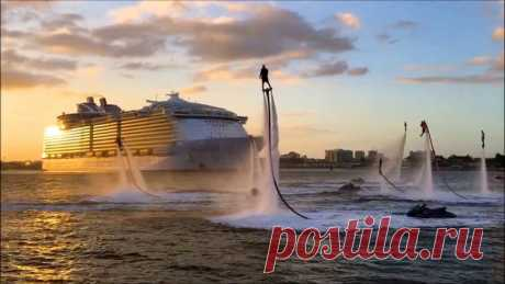 https://youtu.be/Wqh38dRij5c Весёлое путешествие! Как выглядят круизные корабли изнутри!
