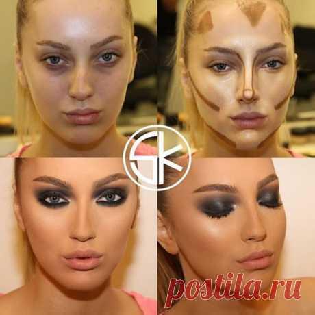 10 фотопримеров, как можно преобразиться при помощи макияжа Макияж лучше всякого пластического хирурга может изменить форму глаз, носа, выделить скулы и сделать подбородок более острым. Все это реально, что доказывают профессиональные визажисты, работающие с самыми разными девушками...