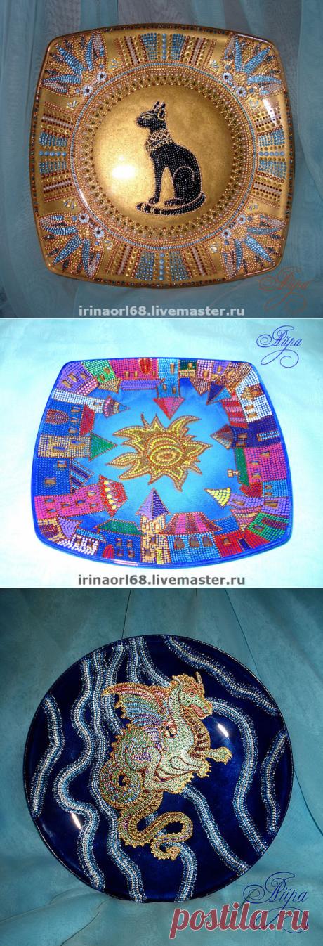 La vajilla decorativa de Ayry de Volgogrado.