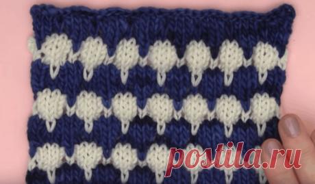 Объемные буфы спицами: простая вязка — оригинальные изделия