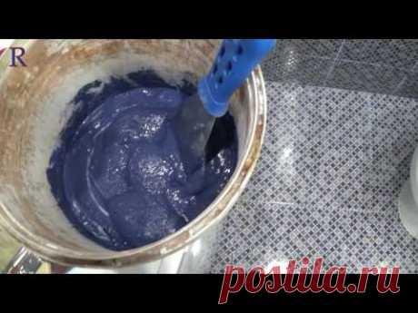 Исправляем шов кафеля (затирка плитки) ремонт