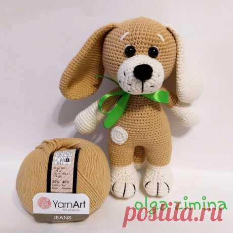 Вязаный щенок схема амигуруми | Hi Amigurumi