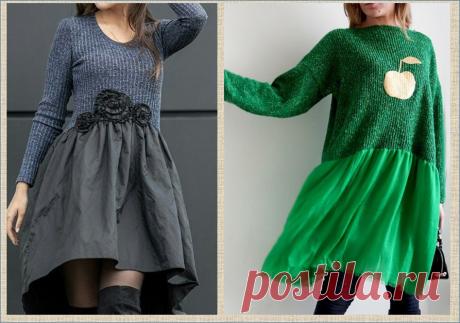 И снова про переделку одежды: берем свитера и кофточки на прокачку | МНЕ ИНТЕРЕСНО | Яндекс Дзен