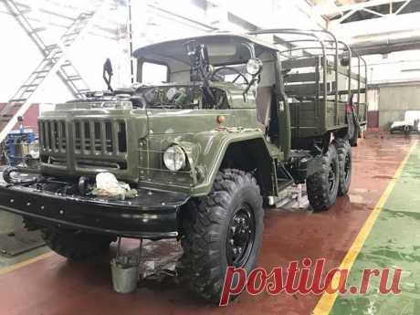 Восстановление автомобиля ЗИЛ-131 | Авто гараж