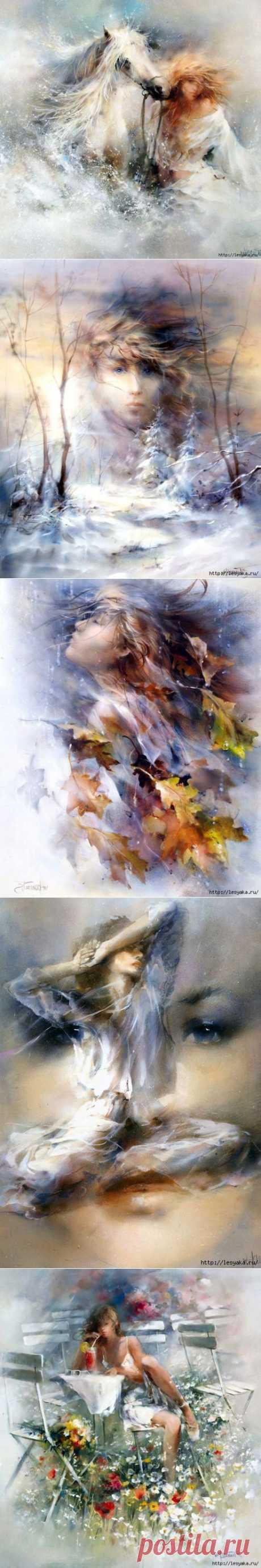 Воздушная живопись Willem Haenraets..
