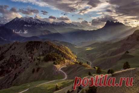 В горах Ингушетии. Заповедник Эрзи. Автор фото — Сергей Карпухин: nat-geo.ru/photo/user/18247/