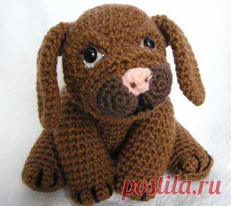 Схемы СОБАК - Страница 3 - В мире животных - Форум почитателей амигуруми (вязаной игрушки)