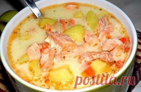 Один раз приготовила и влюбилась навсегда! Финский суп с лососем и сливками