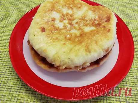 Хачапури на сковороде: упрощенный, экономный рецепт
