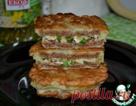 """Закуска """"Безумные хлебцы"""" – кулинарный рецепт"""