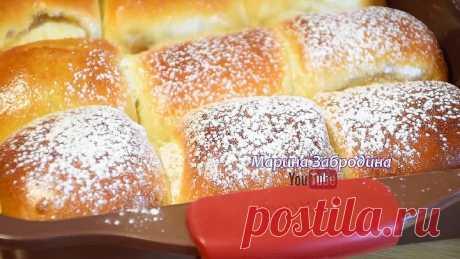 Мягкие как Пух! ✧ Удивительно простой рецепт булочек с повидлом