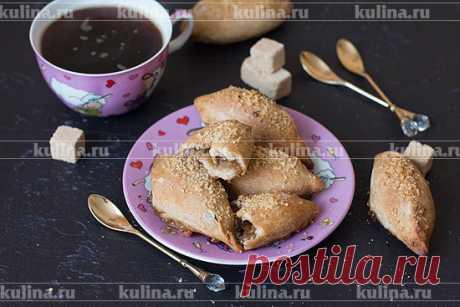 Постные пирожки с яблочным вареньем – рецепт приготовления с фото от Kulina.Ru