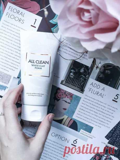 Пенка для умывания с белой глиной Heimish All Clean   Блог о косметике и красоте Dareas Beauty