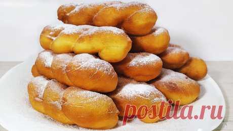 Очень вкусный пышные пончики | Ольга Лунгу | Яндекс Дзен