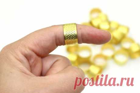 3 шт., металлическая наперсток, защита для пальцев, вязанные золотые наперсток для шитья, обручи для рукоделия, аксессуары для рукоделия|Швейные инструменты и аксессуары| | АлиЭкспресс