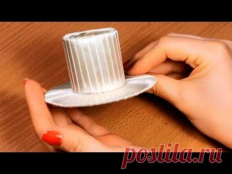 How to make a hat with own hands? \/ Master class \/ Basis for Kanzasha