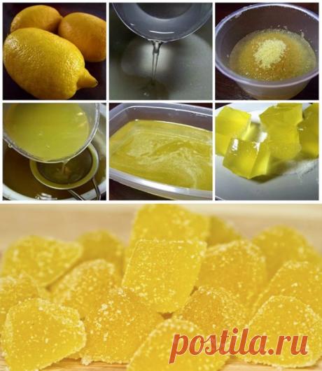 Домашний мармелад из лимона, который понравится всем сладкоежкам | I Love Hobby - Лучшие мастер-классы со всего мира!