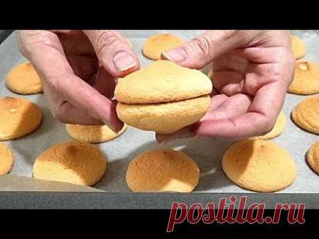 Как правильно приготовить БИСКВИТ - БУШЕ /Biscuit Boucher