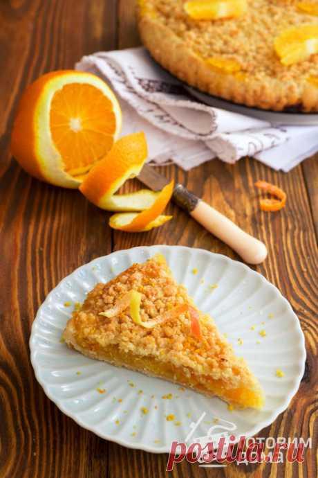 Постный апельсиновый пирог - пошаговый рецепт с фото на Готовим дома