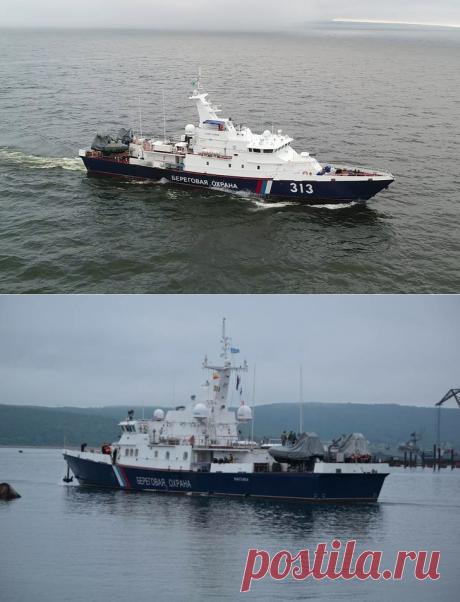 2021 июнь. Два пограничных сторожевых корабля проекта 10410 «Светляк», построенные на Восточной верфи во Владивостоке успешно совершили первый выход в море. Сторожевик спроектирован Центральным морским конструкторским бюро «Алмаз»