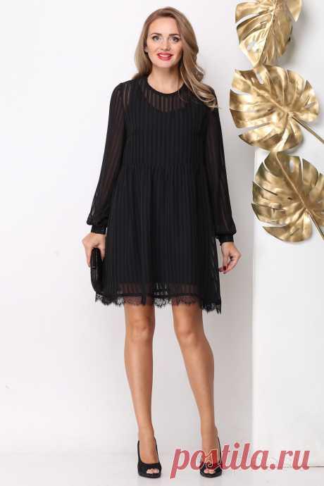 Платье Michel Chic 966 черный - Интернет-магазин Presli.ru