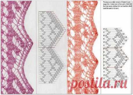 Красивая отделка по краю для палантинов и шалей или магия шетландского кружевного вязания | Paradosik_Handmade | Яндекс Дзен