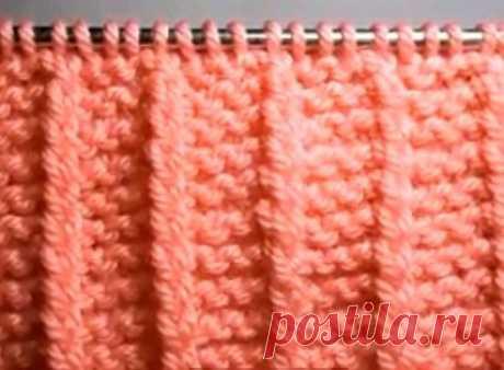 Техника вязания. Подборка. Резинки (5)
