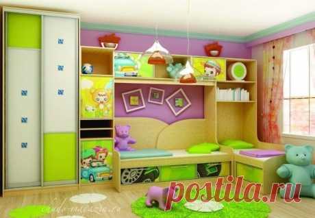 Комплект мебели для детской комнаты на заказ купить по цене 85 000 руб. в Москве— интернет магазин chudo-magazin.ru