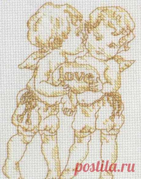 """""""Хомячки"""" - рукоделие - схемы - вышивка крестом"""