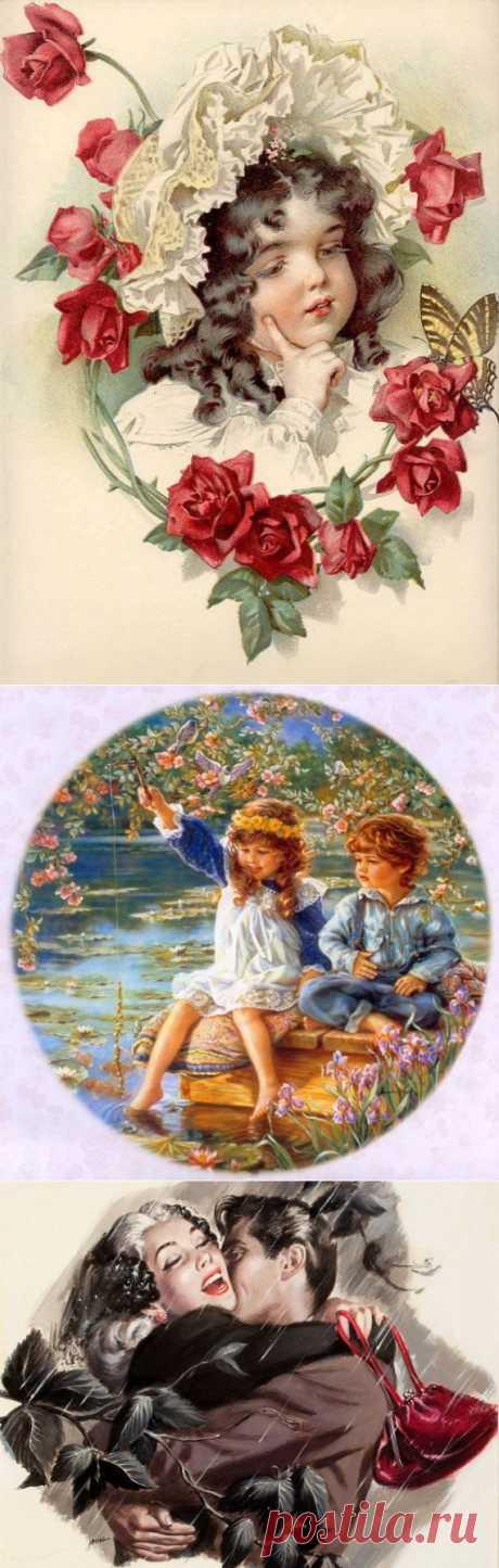 Картиночки разные / Картинки для декупажа / PassionForum - мастер-классы по рукоделию