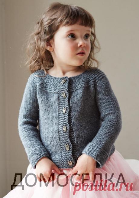 Вязание детской кофточки | ДОМОСЕДКА