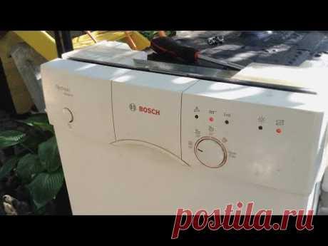 Как разобрать посудомоечную машину Bosch | How to disassemble a Bosch dishwasher ||