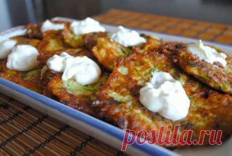 Los buñuelos turcos de los calabacines