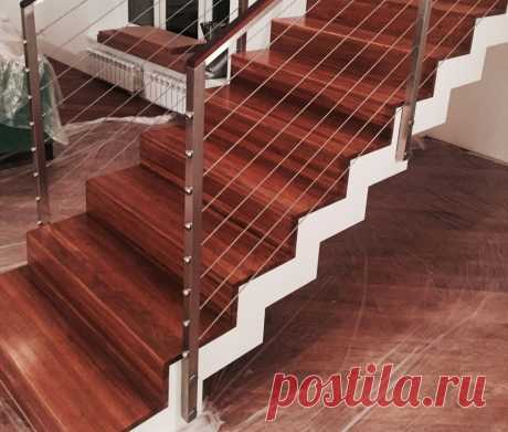 Современные ограждения для лестниц и балконов
