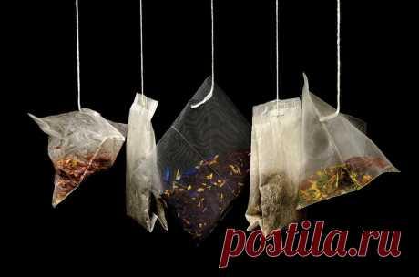Как применить использованный чайный пакетик Почему не стоит выбрасывать использованные чайные пакетики. Как они могут помочь в готовке, в быту и для обуви.
