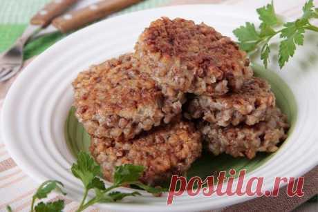 Котлеты из гречки с грибами рецепт пошагово мастер класс