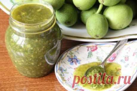 Рецепты народной медицины из зелёного грецкого ореха   Правила здоровья и долголетия
