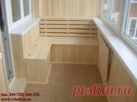 Как украсить маленький балкон или лоджию (фото)?