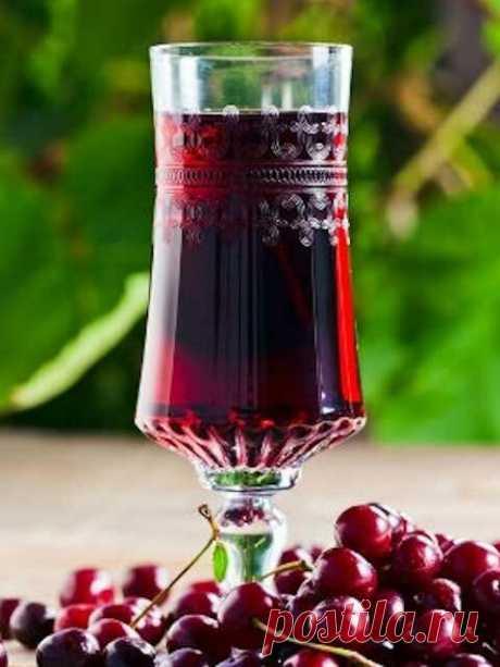 Вишневка: старинный рецепт напитка | Русская деревенская кухня | Яндекс Дзен
