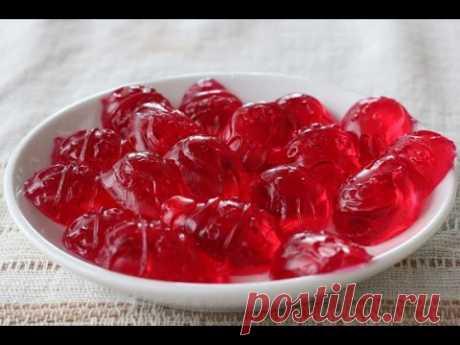 Желейные конфеты рецепт в домашних условиях