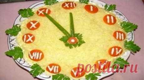 9 салатов которые украсят ваш Новый год - lublugotovit.me