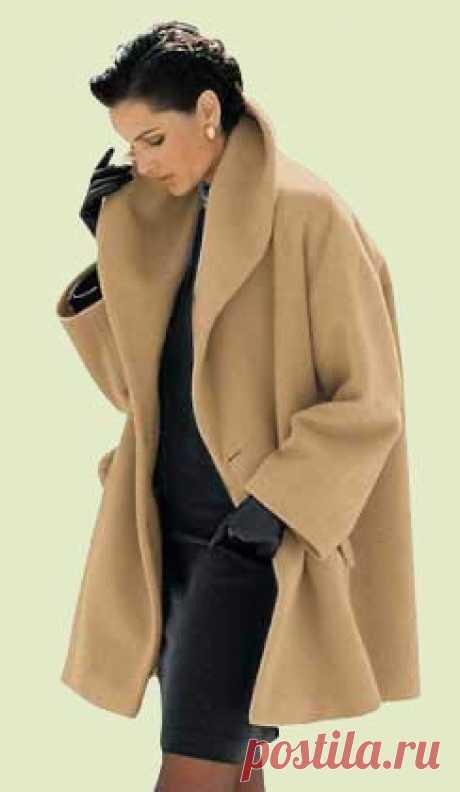 Выкройка пальто трапеция: подробное описание для пошива