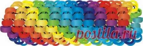 Мозаичный шнур. Бисерный мульт