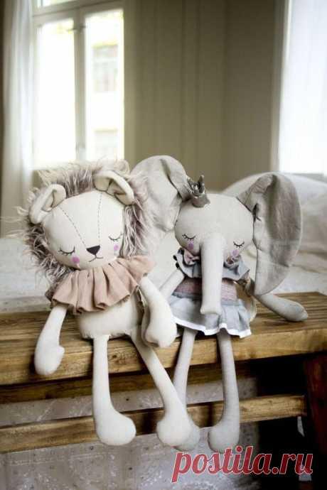 Креативные идеи мягких игрушек- подушек