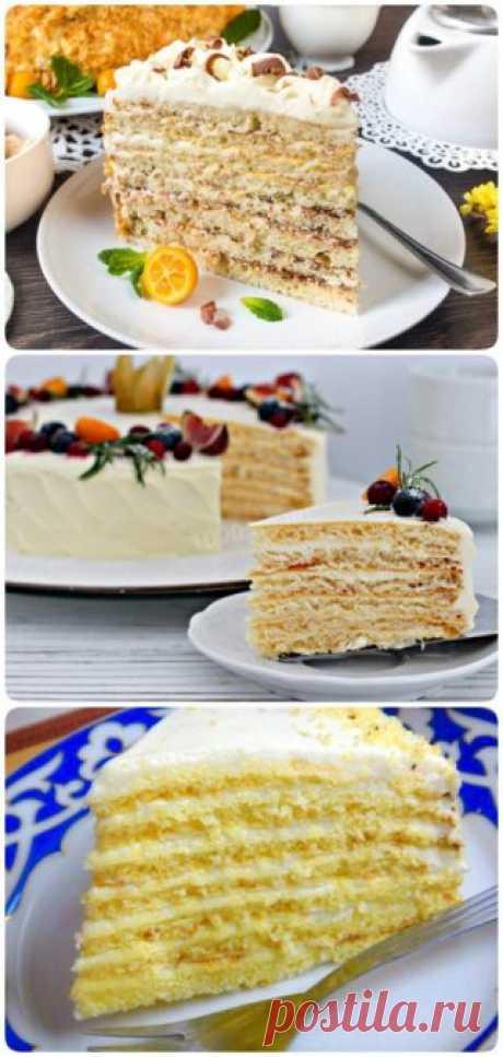 Восхитительно нежный торт «Молочная девочка»