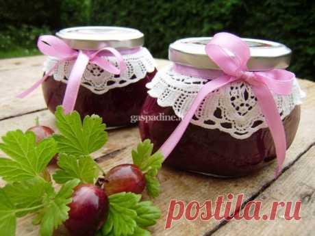 Agrastų uogienė su mandarinais ir graikiškais riešutais - receptas   Gaspadine.lt